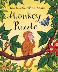 Book cover Monkey Puzzle